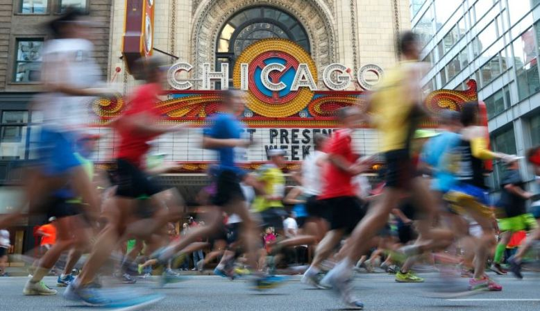 Chicago Marathon Photo OK